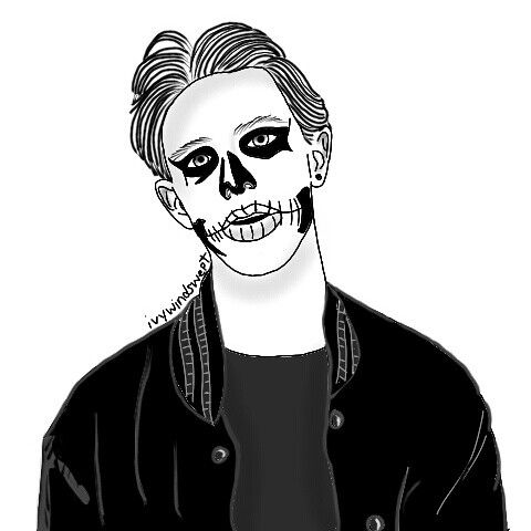 Skeleton boy ﹏﹏﹏﹏﹏﹏﹏﹏﹏﹏﹏﹏﹏﹏﹏﹏ #Grunge #Punk #teen #Hipster ...