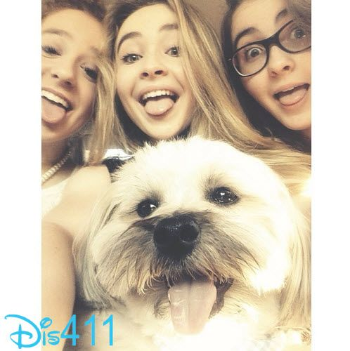Photos: Sabrina Carpenter With Her Sister And Friend July 5, 2014