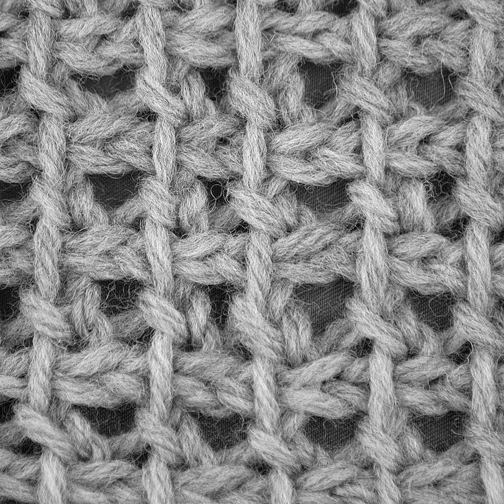⇐ Back to Lace Stitches       This pattern is a variation of the seed stitch. It adds an open-space between each stitch, and this combined ...