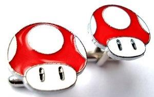 Mario Themed Cufflinks