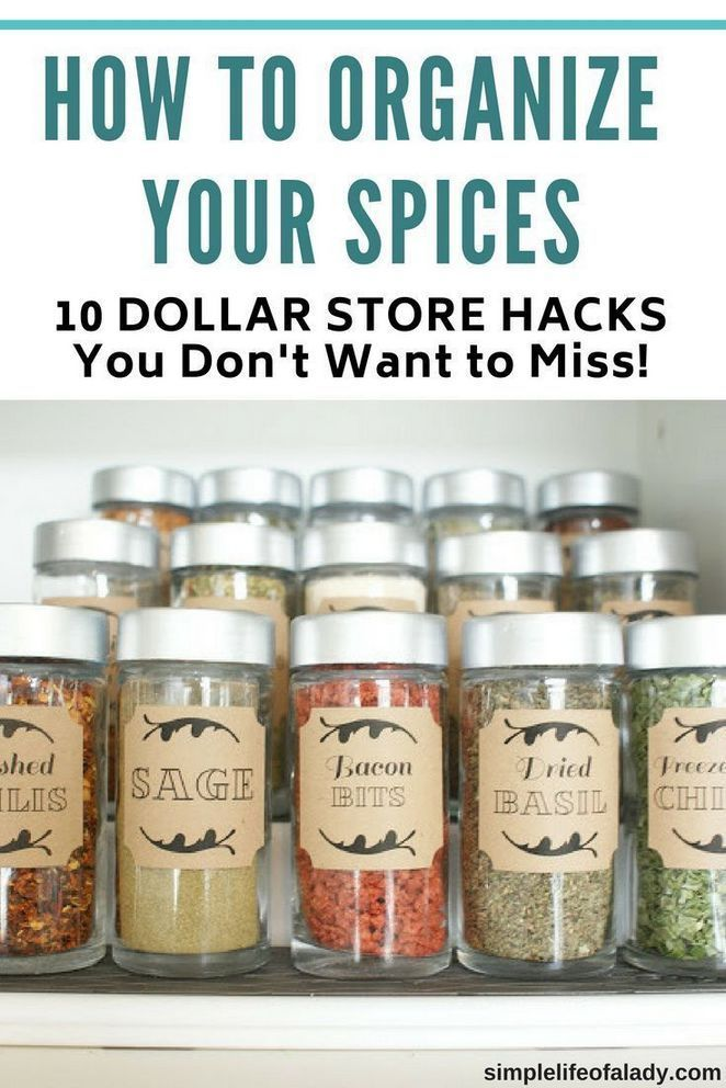 15 Secrets To Organizing Kitchen Cabinets Dollar Tree Organization