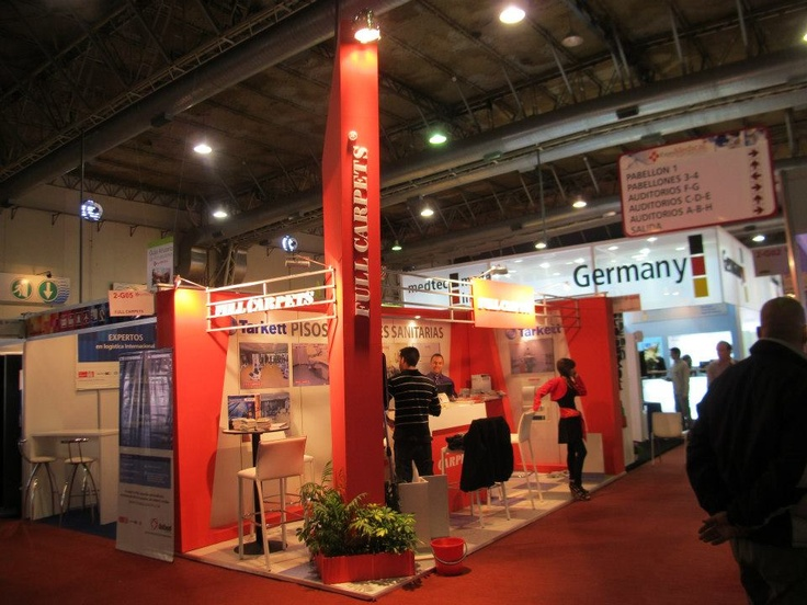 Stand Full Carpets Expo Medical 2012
