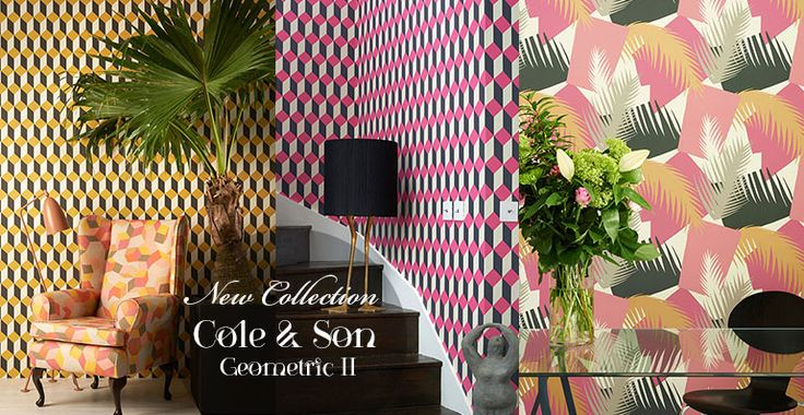 Official launch new Collection Cole and Son: Geometric II