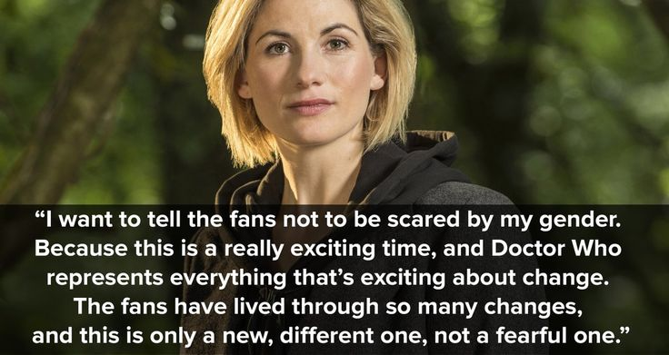 Doctor Who is a show where anything and everything is possible! So why not this? ❤️❤️ As sad as so am to see Peter leave this Christmas, I'm so happy to see what Jodie has in store for us!