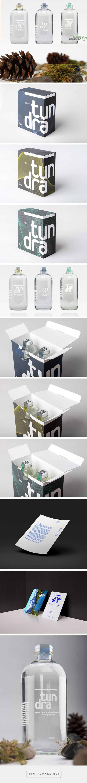 Tundra Water designed by Lauren Radulescu. #packaging #design #branding