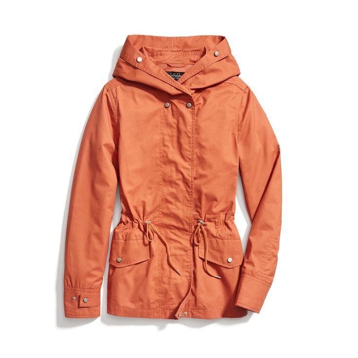 Stitch Fix Spring Outerwear: Pop Color Raincoat