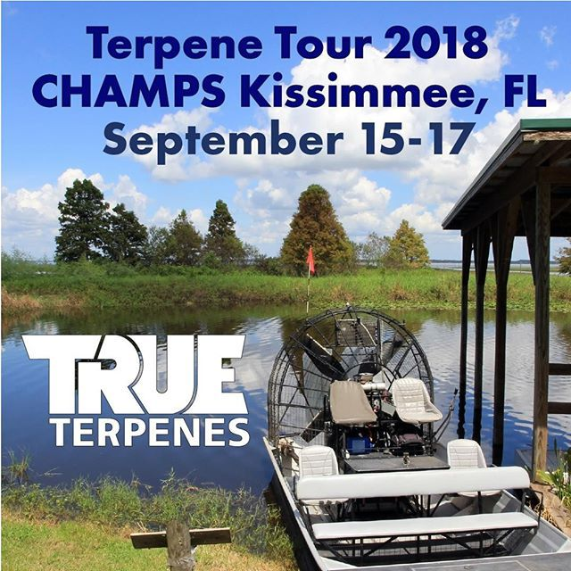 True Terpenes is heading to the Champs Trade Show in