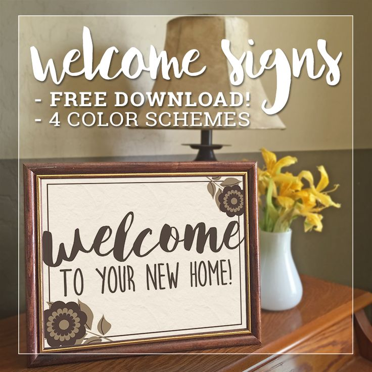 FREE DOWNLOAD - Welcome Signs for Open Houses, Showings - Real Estate Marketing Tips - Agent Design Studio