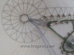 Плетение Одуванчика. Шаг 8