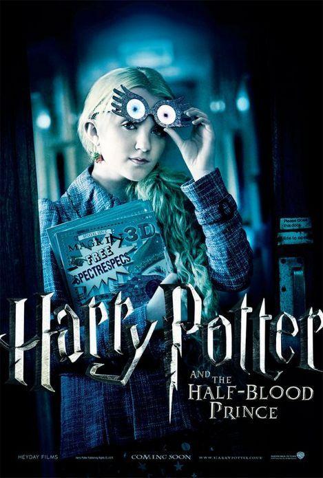 『ハリー・ポッターと謎のプリンス』ルーナのポスター//イヴァナ・リンチ