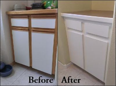 641 best images about organizing kitchen on pinterest - Painting wood laminate kitchen cabinets ...