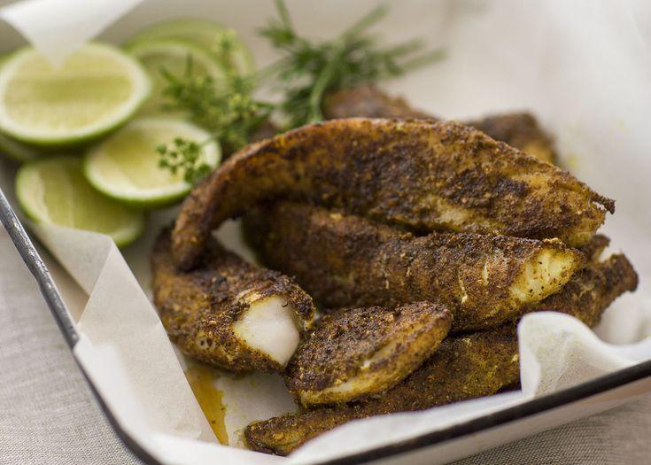 spice-coated flathead fillets | #seafood #flathead #recipe #foodwise
