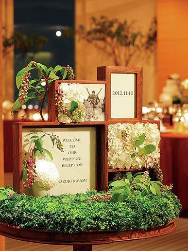 画像 : 【結婚式】ホワイト・グリーンのおしゃれなテーブルコーディネート・装花集【ウェディング】 - NAVER まとめ