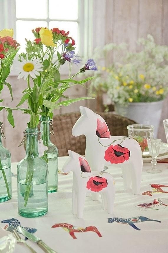 Swedish summer table