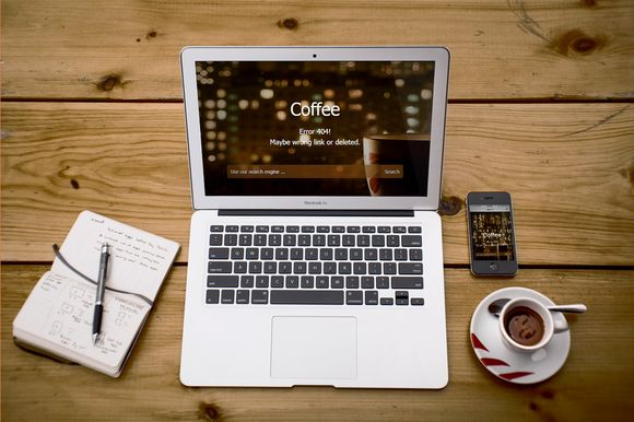 Check out Coffee - Responsive 404 Error Page by Perso Themes on Creative Market