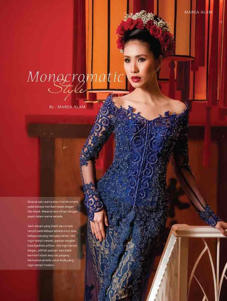 Marga Alam for Kebaya in Style Magazine https://www.facebook.com/KebayaInStyle