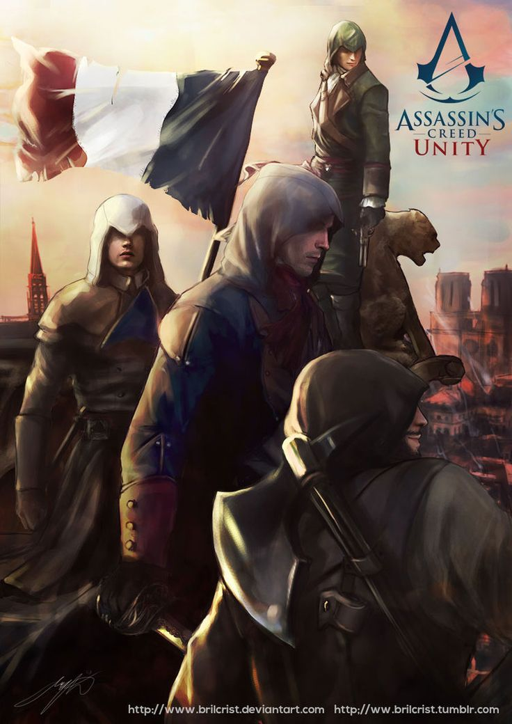 Assassin's Creed Unity fanPoster by Brilcrist
