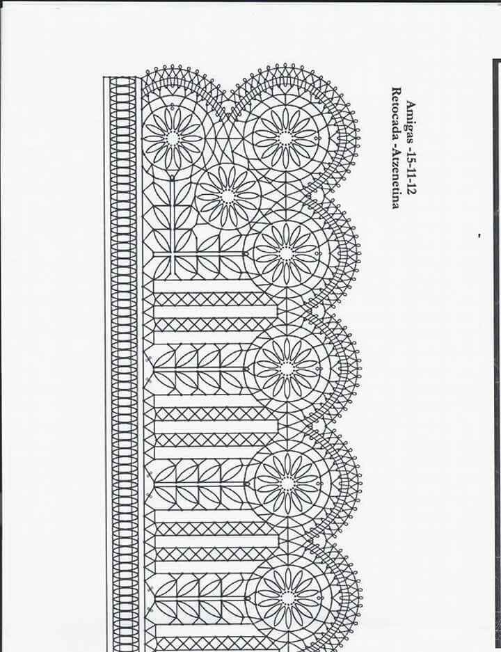 Resultado de imagen de Bobbin lace pattern