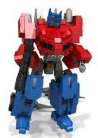 Lego Transformers Fall of Cybertron Optimus Prime Instructions by BWTMT Brickworks