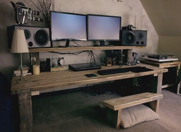 15 Inspiration to Construct Your Personal Pc Desk!