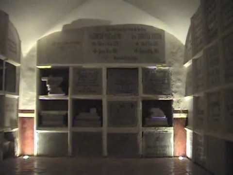The catacombs, Templo de San Diego, Aguascalientes