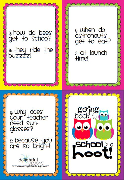 owl back to school printable