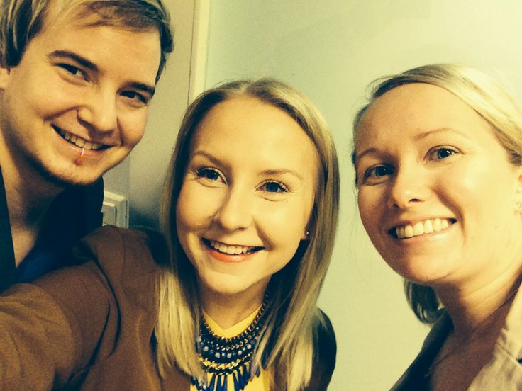 Three of our marketing team taking a selfie, first thing in the morning. So typical of them! #funatwork #marketing