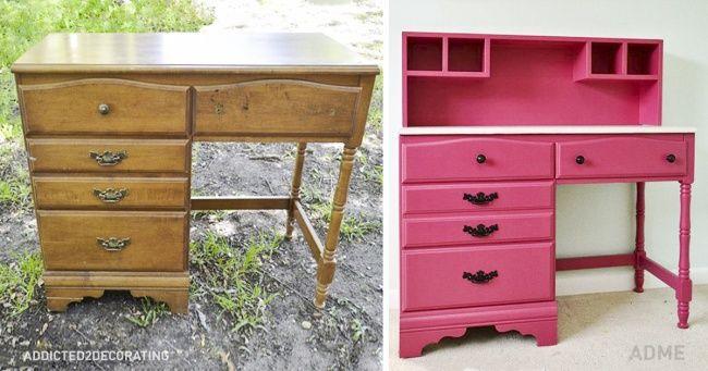15крутых идей для переделки старой мебели