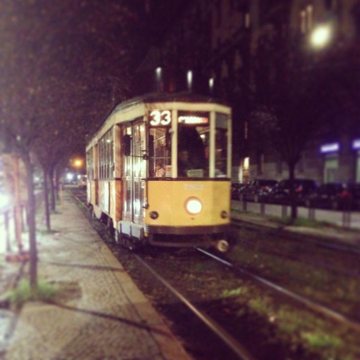 Tram, Milano, Italy