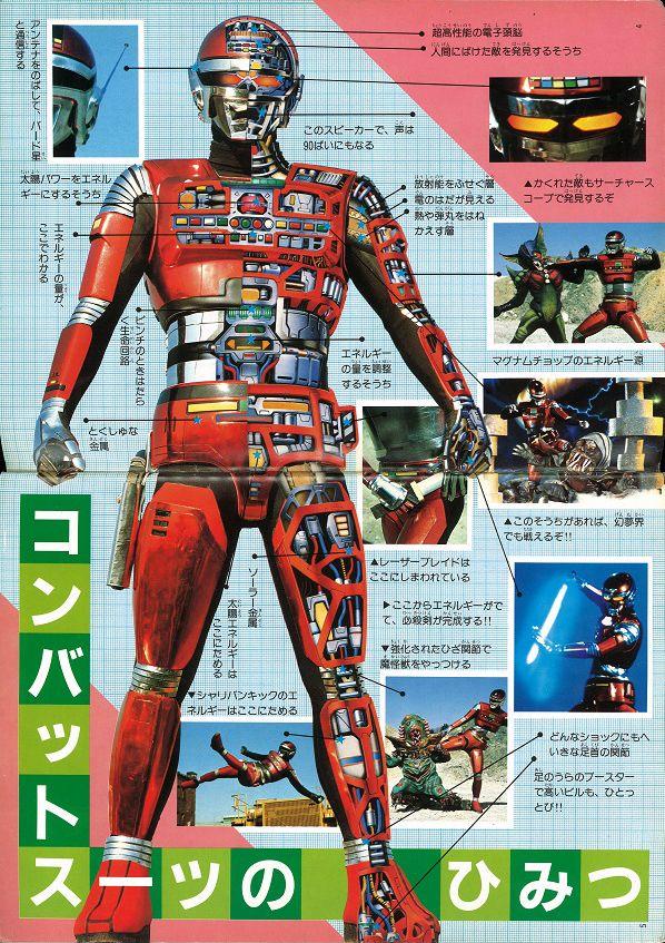 Space Sheriff Sharivan Combat Suit