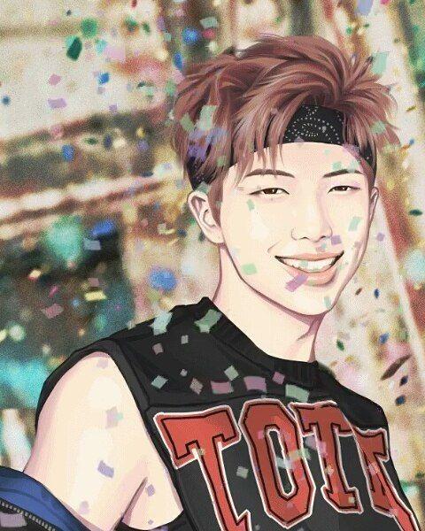 namjoon fanart | ♡ | Bts dibujo, Dibujos, Dibujo digital |Namjoon Bts Anime