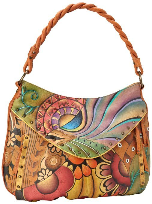 Anuschka 513 Shoulder Bag Patchwork Garden One Size