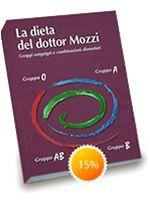 La dieta del dottor Mozzi: gruppi sanguigni e combinazioni alimentari. L'intento del libro è quello di dare la possibilità a qualsiasi persona, anche a coloro che non hanno cognizioni mediche di alcun tipo, di tenere sotto controllo il proprio stato di salute...