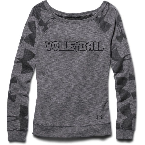 I think I just found Roooooski's Christmas present...yaaaay! Under Armour Women's Kaleidalogo Volleyball Crew Sweatshirt
