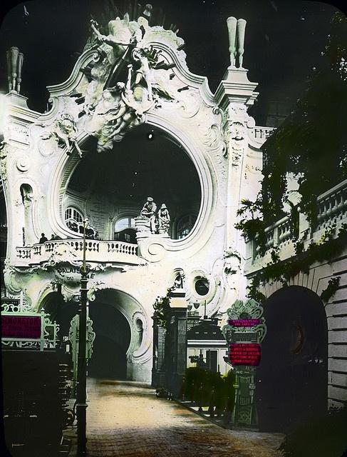 Paris Exposition: Agricultural Section, Champagne Palais, Paris, France, 1900