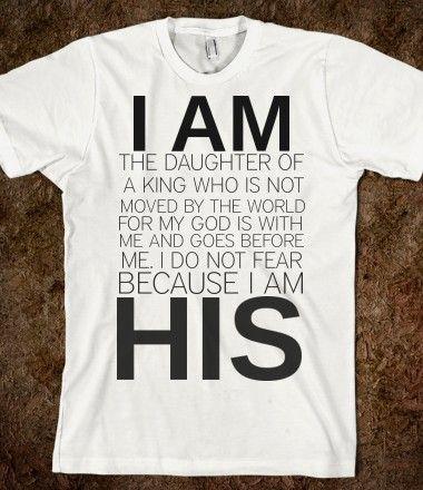 I AM HIS <3