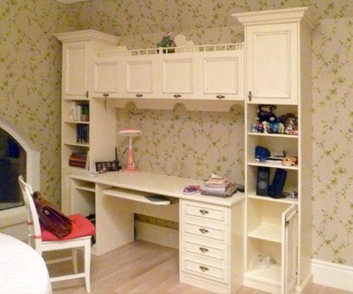 Письменный стол-шкаф длядетской комнаты