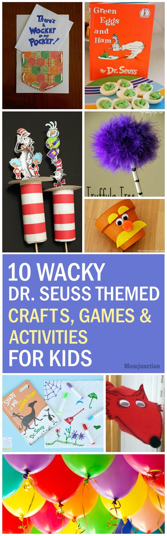 Top 10 Dr. Seuss Themed Crafts, Games And Activities For Kids