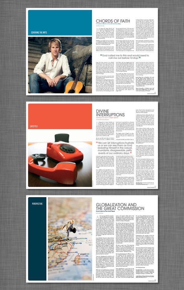 T Magazine by Naomi Francois, via Behance #Layout #Design #Magazine #Editorial #Christian