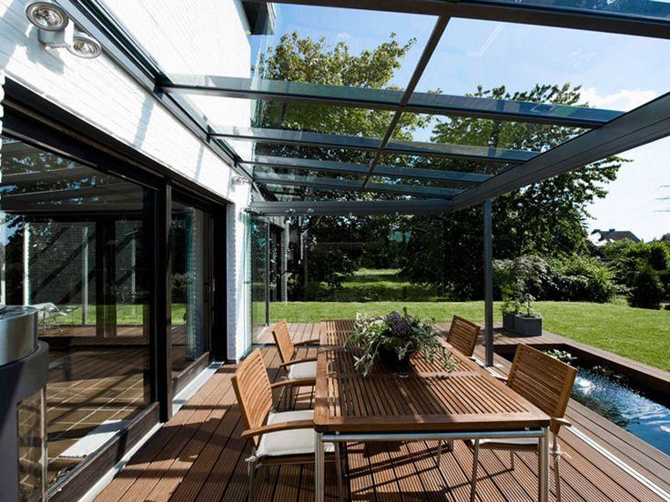 Met onze vaste- en schuifbare terrasoverkappingen i.c.m. glaspanelen creëert u een tuinkamer (Zierikzee)
