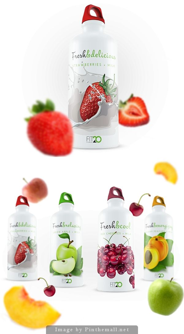 Fresh & Delicious for Fit20 by Dia P. Pin curated by SFields99. #packaging