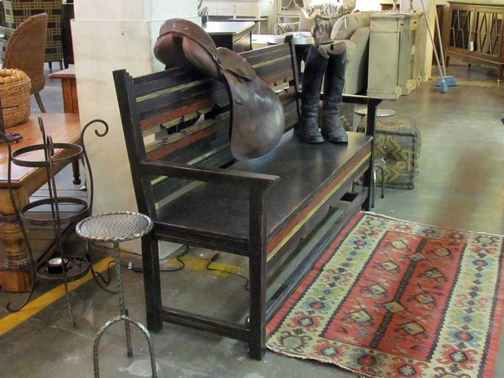 Eddy West Large Southwest Bench   Floor Sample On Clearance EW 43 2003