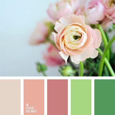 colores suaves para una boda, paleta de colores para una boda, paleta suave para una boda de invierno, rosado claro, rosado melocotón, rosado pálido, rosado suave, rosado y verde lechuga, selección de colores para decorar una boda, selección de colores para una boda, tonos pastel de