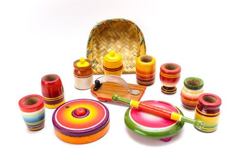 Bhatukali (collections of small toys)
