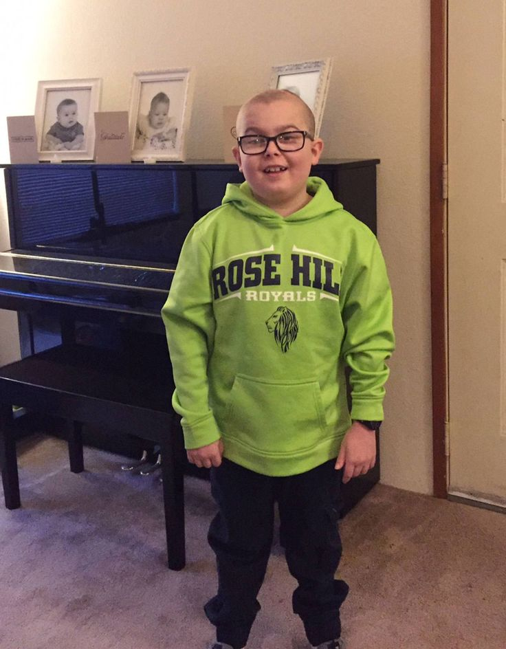 Kirkland boy heads back to school after proton radiation treatment