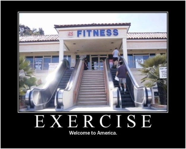 exercise demotivational poster