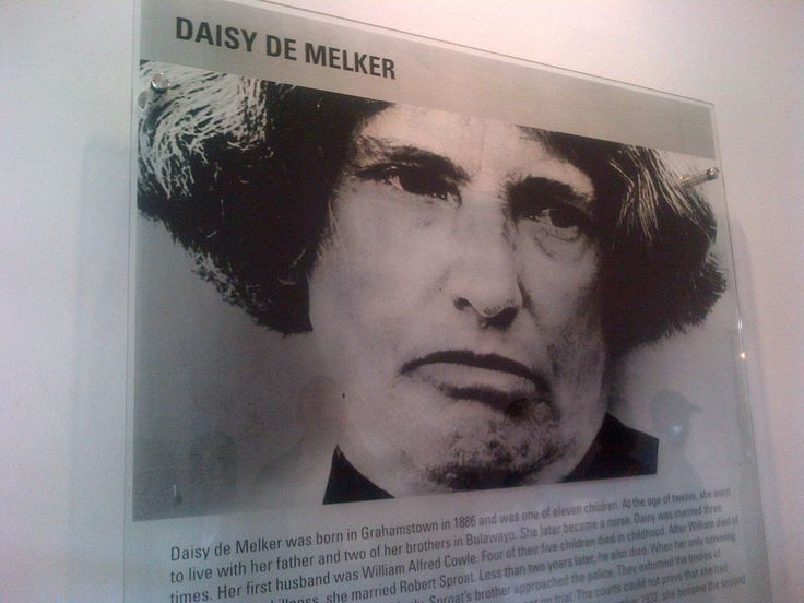 this is the picture of Daisy De Melker, the perpetrator.