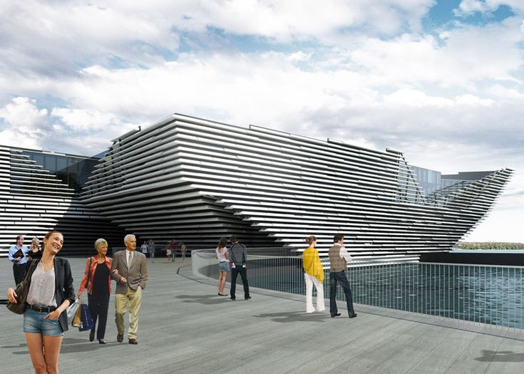 Kengo Kuma's V&A at Dundee Granted Planning Permission