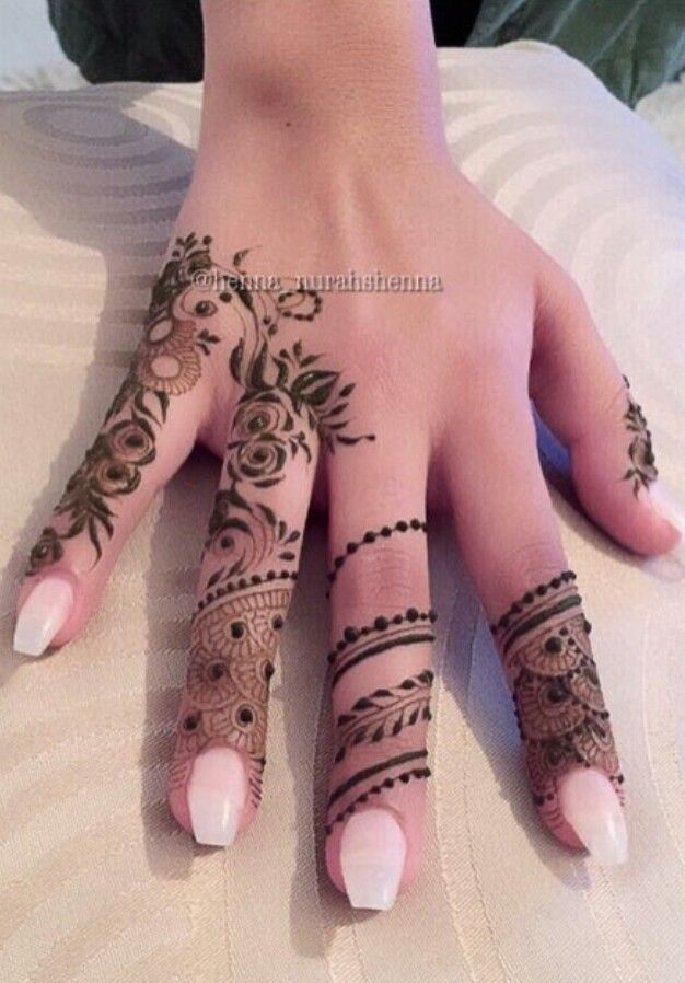 Henna hand                                                                                                                                                      More
