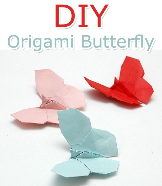 How to Make an Origami Butterfly - Tutorial | Tips For Women